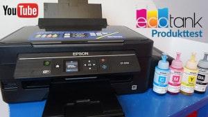 Epson EcoTank – erstes YouTube Video in Produktion
