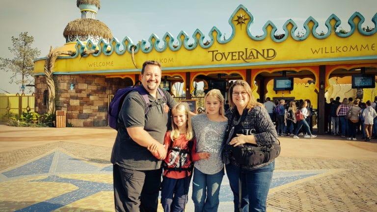 Clanfamily vor dem Toverland 2018