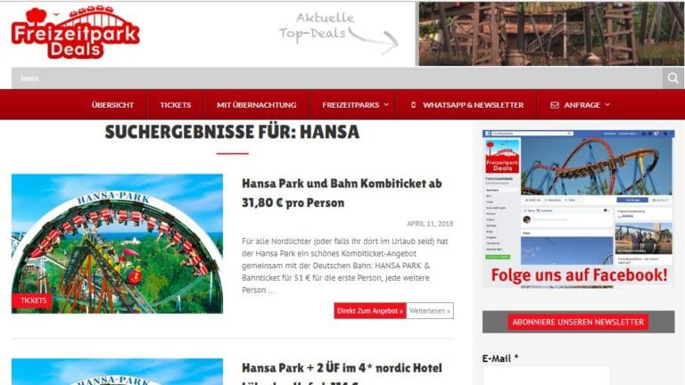 Günstiger Ostsee Urlaub in Sierksdorf mit Hansa-Park - so gehts - Urlaub - 5 - Urlaub,Ostsee,hansa-park