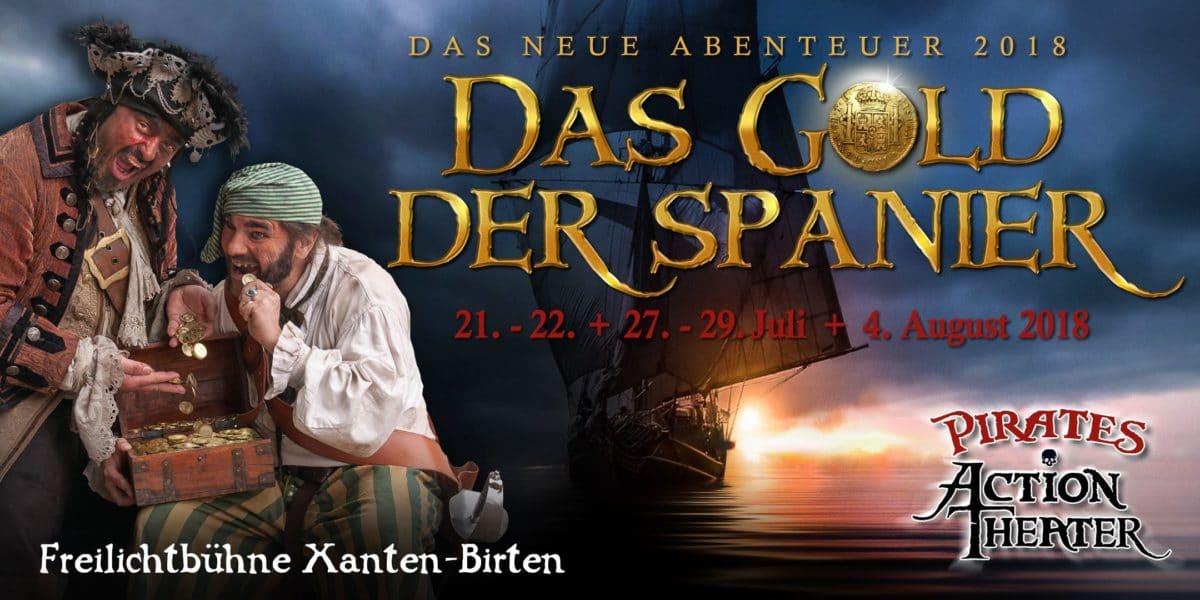 Das Gold der Spanier - Pirates Action Theater - - 8 -