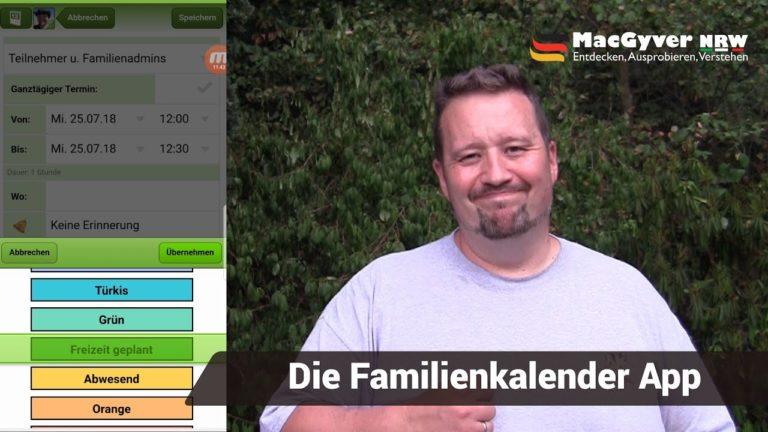 Famanice Familenkalender App - Live erklärt - famanice - 1 - famanice,Familienkalender,App,test
