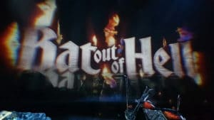 Bat out of Hell Leinwand