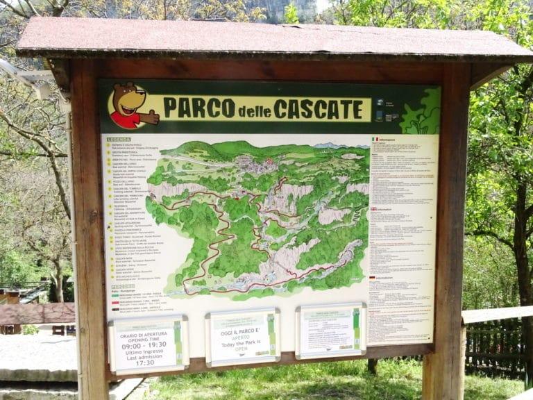 Ausflug: Molina - Wasserfälle im Parco della Cascate - parco delle cascate - 1