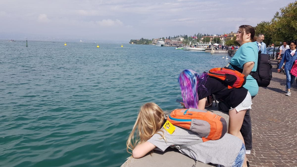 Ausflug: Sirmione am Gardasee - - 1
