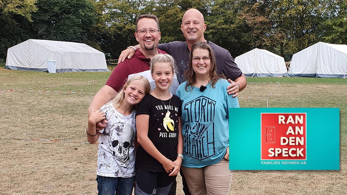 Ran an den Speck (RTL) - Familie Baumann mit Detlef Steves