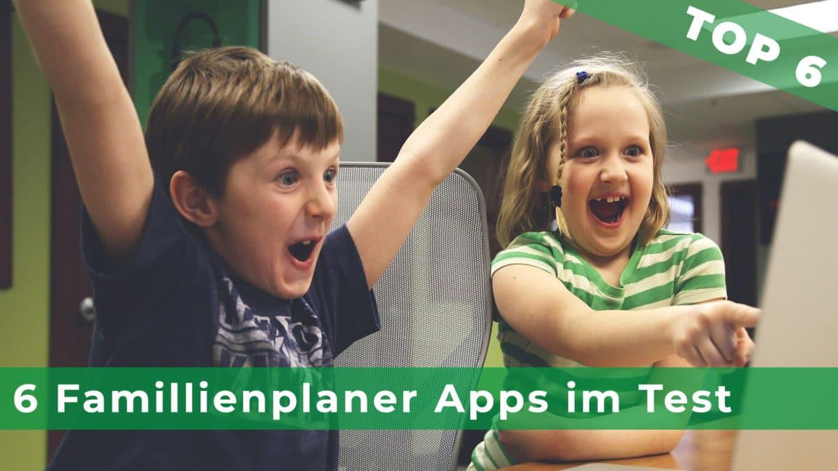 Titelbild Apptest Serie Familienkalender