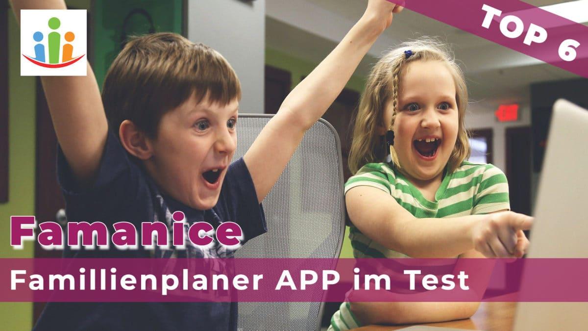 Titelbild Famanice Familienkalender App Test